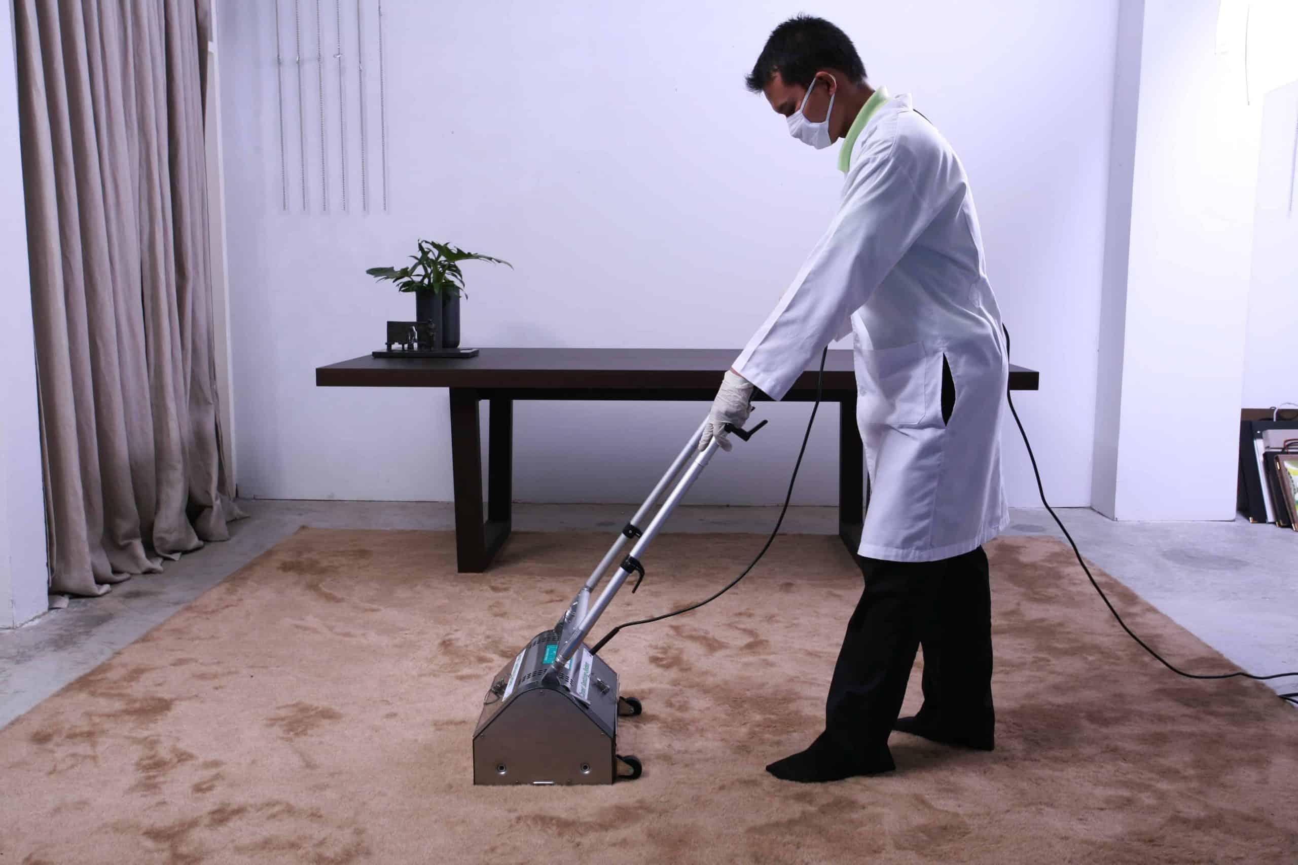 ทำความสะอาดพรม